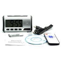 Wholesale hidden camera dvr clock - Hidden Camera Portable Alarm Clock Spy Camera DVR with Motion Detection