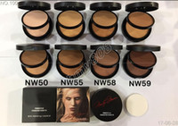 Wholesale Cake Circles Wholesale - Factory Direct DHL Free Shipping Makeup Face 202 # double dry wet powdery cake