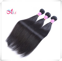 Wholesale cheap silky human hair weave online - Top A Dyeable No Shedding inches Peruvian Hair Bundle Unprocessed Silky Straight Hair Weave Natural B Cheap Human Hair Extensions