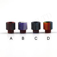 Wholesale Crazy Accessories - 2017 hot products top selling 510 wide bore drip tip crazy colors vape electronic ecig accessories