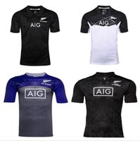 Wholesale Best New Homes - 2016 2017 New Zealand Rugby Home Away Jersey 16 17 best quality shirt Free shipping size S - 3 xl