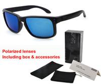gerahmte sonnenbrille großhandel-Markendesigner polarisierte Sonnenbrillemannfrauen neue Spitzenversion Sunglass TR90 Rahmen uv400 Objektiv Sport-Sonnenbrille mit Kleinkasten und Beutel