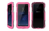 Wholesale housing full case - 5M Underwater Diving Case For Iphone X 8 7 Plus 6 6S Galaxy Note 8 S8 Waterproof Case Acrylic Clear Full Body Anti-knock Housing Skin Cover