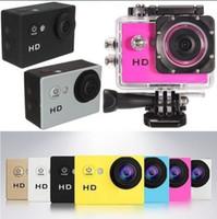 versand 12mp großhandel-SJ4000 A9 Volle HD 1080 P Kamera 12MP 30 Mt Wasserdichte Sport Action Kamera DV AUTO DVR DHL Verschiffen