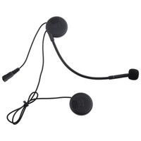 Wholesale motorbike headset for sale - Group buy Motorbike Helmet Intercom Headset Water resistant Interphone with DPS Echo Cancellation Technology T COM02S Motorcycle