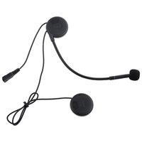 gegensprechanlage für helm großhandel-Motorradhelm Intercom Headset Wasserfestes Interphone mit DPS-Echounterdrückungstechnologie T-COM02S Motorrad