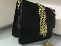 Wholesale Silk Bag Pattern - NEW fashion women famous MICHAEL KALLY handbag PU leather cross pattern square bags one shoulder messenger bag crossbody chain purse C588
