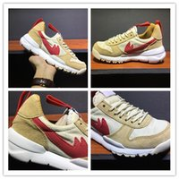Wholesale Natural Running - Tom Sachs x Craft Mars Yard 2.0 TS NASA Running Shoes For Men Natural Red Crafts Sports Sneakers Designer Shoes Zapatillas Vintage size39-46
