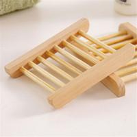 Soap Dishes Wood Soap Holder 10 Packs Home Bathroom Wooden Soap Case Bathtub  Shower Dish Rectangular