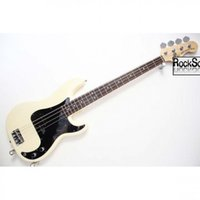 Wholesale Oem Jazz Guitars - Wholesale- guitars Custom Shop rose wood Fingerboard  JAZZ PRECISION BASS OEM Customizable exclusive LOGO Chrome Milk yellow