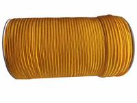 Wholesale Golden Thread Jewelry - 4mm Golden Yellow Best Flat Line Nylon Cord+Jewelry Accessories Thread Macrame Rope Shamballa Bracelet Beading Cords130m Roll
