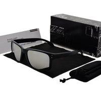 zubehör radfahren großhandel-Radfahren Sonnenbrille Männer Fahrrad Sonnenbrille Mode Dazzle Farbe Spiegel Gläser UV400 Schutz 13 Farben mit Retail-Zubehör