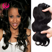 indian products wholesale price Canada - Brazilian Human Hair Body Wave Weave Bundles 4pcs lot Wow Queen Products Soft And Thick Cheap Price Brazilian Virgin Hair Extensions