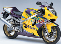 Wholesale Gsxr Abs Motorcycle Fairing - 3 Free Gifts New ABS motorcycle Fairing Kit for SUZUKI GSX-R600 GSX-R750 600 750 GSXR 2001 2002 2003 K1 01 02 03 Bodywork ok yellow purple