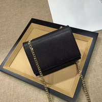 Wholesale Plain Metal - NEWEST Original Quality TASSEL SATCHEL Wholesale female Handbags CLASSIC CHAIN WALLET FLAP FRONT WALLET WITH METAL CHAIN