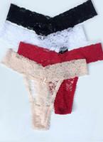 Wholesale Cheap Women S Thongs - Sexy Underwear G String Thongs Panties T Back LINGERIE women lady Solid bikini panty cheap size S M L XL XXL