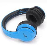 Wholesale Sms Street Dj Headphones - SMS Audio STREET 50 Cent Noise Cancel DJ Headphone Wired Over Ear Headphones Gaming Bike Frame Headset For Iphone smartphone MP