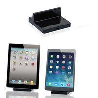 Wholesale Ipad 8pin Charger - Wholesale-Portable 8Pin Desktop Data Sync USB Cradle Dock Charger Docking Station Cradle Charging Sync Dock for Ipad 4,5,6,for Ipad Mini 2