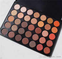 Wholesale Pop Nature - 35os Color Nature Glow Shimmer Eyeshadow Palette Glitter Eyeshadow Pigments Contour Smash Makeup Color Pop Eyeshadow