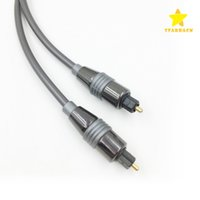 Wholesale Digital Audio Optical Fiber Optic - Fiber Optic Cable Series 3M 10FT Male Toslink Audio Cable Cord Digital Optical OD 2.2mm with Package