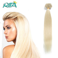 Wholesale Platinum Color Hair Extensions - Full Head Set Clip ins 70-200g Clip In Human Hair Extensions Blonde Human Hair Clips In Platinum Blonde Brazilian Clip In Hair
