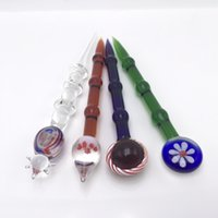 Wholesale glass dome wax rigs for sale - Group buy New Glass Dabber Tool Wax Dab Tool dome for quartz banger nail Oil Herb Vaporizer Dab Tools glass bong Oil Rig Dab Rig