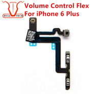 Wholesale Iphone Volume Switch - Volume Button Connector Flex Cable For Apple iPhone 6 Plus 5.5 Inch Mute Lock Switch Ribbon Replacement Part Replace Repair Fix Parts