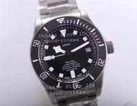 Wholesale black titanium watch - Top ZF Factory V2 Automatic ETA Cal 2824 Titanium Watch Men Black Dial Chronometer Mens 25500TN Rotor Waterproof Watches Dive Wristwatches