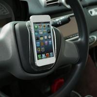 ingrosso supporto mobile antiscivolo-Anti-scivolo stuoia auto cruscotto parabrezza appiccicoso supporto del supporto montare per cellulare Telefono cellulare GPS Clear