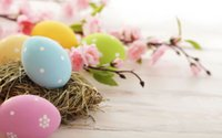 Wholesale easter photography backgrounds for sale - Group buy 7x5ft Vinyl Custom Photography Backdrops Prop Easter day background JITU