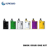 Wholesale Drip Tip Green - SMOK OSUB One Kit 2200mAh 50W with Top Adjustable Airflow System and 510 Drip Tip SMOK OSUB One TC Starter Kit