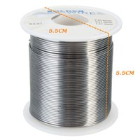 Wholesale cored solder - Newest 1PC 1mm 63 37 Tin lead Rosin Core Soldering Wire Solder Welding FLUX 200G Electrolysis Solder Top Quality