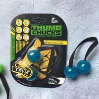 Wholesale Wholesale Logo Game - LED Thumb Chucks Fidget In Display Without Zing LOGO Bundle Control Roll Game Yomega Monkey Knuckles Finger Yoyo Anti Stress Toys 50