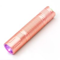 Wholesale uv aa - UV Led Flashlight 365Nm 395Nm Purple Color Violet Flash Light Torch AA Battery Flashlight Linternas For Marker Checker Detection