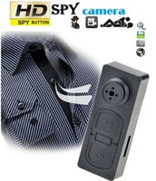 Wholesale Digital Video Recorder Camcorder - 720P Spy Button DVR Camcorder Hidden Pinhole Camera Mini DVR Digital Video Audio Recorder Support Max 32GB TF Card