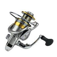 Wholesale Carp Spinning Reels - Metal Spool Sea Boat Fishing Spinning Reel 13+1BB Superior Carp Fishing Wheel For Freshwater Saltwater 1000-7000 Series