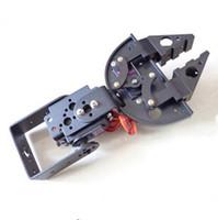 Wholesale Mg995 Servo Arm - F17310 FEICHAO Robot Clamp Gripper Bracket Servo Mount Mechanical Claw Arm Kit for MG995 MG996 SG5010 Servo DIY Toy Accessories