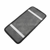 Wholesale Dvd Car Holder Bag - Wholesale- Gray Color Novel Style 18PCS CD DVD Car Auto Vehicle Sun Visor Organizer Holder Case Storage Bag