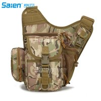 Multi-funcional Tactical Messenger Shoulder SLR Camera Bag Pack Mochila para caminhada de camping trekking ciclismo