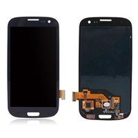 Wholesale galaxy s3 screen display - 2017 hot AAA LCD Display Touch Screen Digitizer Assembly For Samsung Galaxy S3 i9300 Blue with dhl shipping free