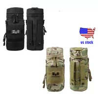 Wholesale Hiking Water Holder - Tactical MOLLE Water Bottle Pouch H2O Pouch Holder Hydration Carrier Outdoor Bags US stock