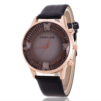 Wholesale Butterfly Fashion Shop - Free shipping wholesale price big shop new fashion sell like hot cakes style butterfly watches for women Belt women watch fashion ladies wat