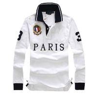Wholesale Dropship Free - discounted PoloShirt men Short Sleeve T shirt Brand London New York Chicago polo shirt men Dropship Cheap High Quality Free Shipping