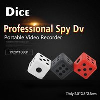 Wholesale Spy Camera Infrared Night Vision - HD Night Led Portable Mini Handheld hidden spy mini dv dice Compact Indoor Outdoor video invisiable camera with Infrared Night vision