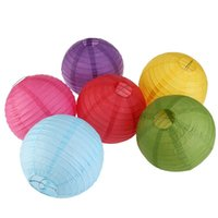 Wholesale Chinese Lantern Charm - Charmed Paper Lanterns 20 '(50cm) - Rice Paper Chinese   Japanese Hanging Decorations - For Home Decor Wedding Party Child DIY Painted