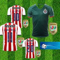 3f2242259b8 Thai 17 18 chivas Guadalajara jerseys BRIZUELA PIZARRO shirt 2017 2018  PULIDO LOPEZ jersey camisas de futebol