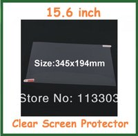 Wholesale Laptop Lcd Film - Wholesale- 10pcs Universal Ultra Clear LCD Screen Protector 15.6 inch Protective Film for LCD Laptop Notebook PC No Retail Package