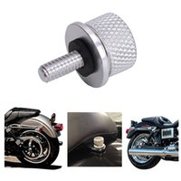 Wholesale Sliver Small Knurled CNC Rear Seat Bolt Polished Stainless Steel Screw For Haley Sportster XL883R Dyna1996