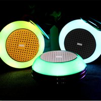 Em Stock Protable Waterproof Mini Bluetooth Speakers Strong Bass Music Player Luzes coloridas Wireless Hand Free Calls for Smartphone