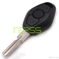 Wholesale Bmw Ews Key - EWS Remote Key 3 Button 315MHz 433MHz ID44 for BMW 3 5 7 SERIES E38 E39 E46 HU58